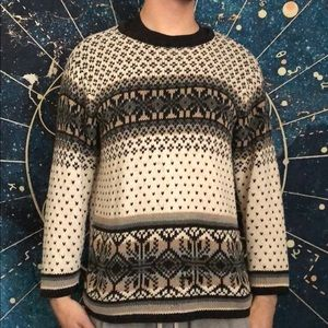 Villager Sport patterned sweater